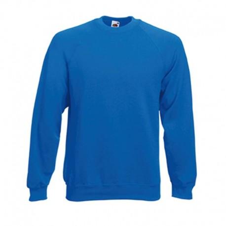 Sweat-shirt bleu électrique pour homme