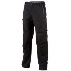 Pantalon de travail  Noir pour homme et femme à prix bas