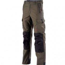 Pantalon de travail Marron havane pour homme et femme pas cher