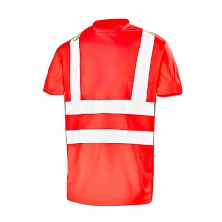 Tee-shirt de sécurité haute visibilité
