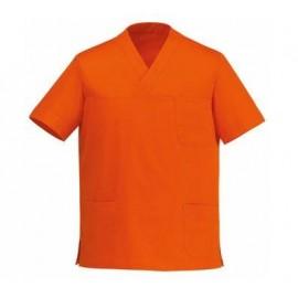 TUNIQUE MEDICALE COL V Orange