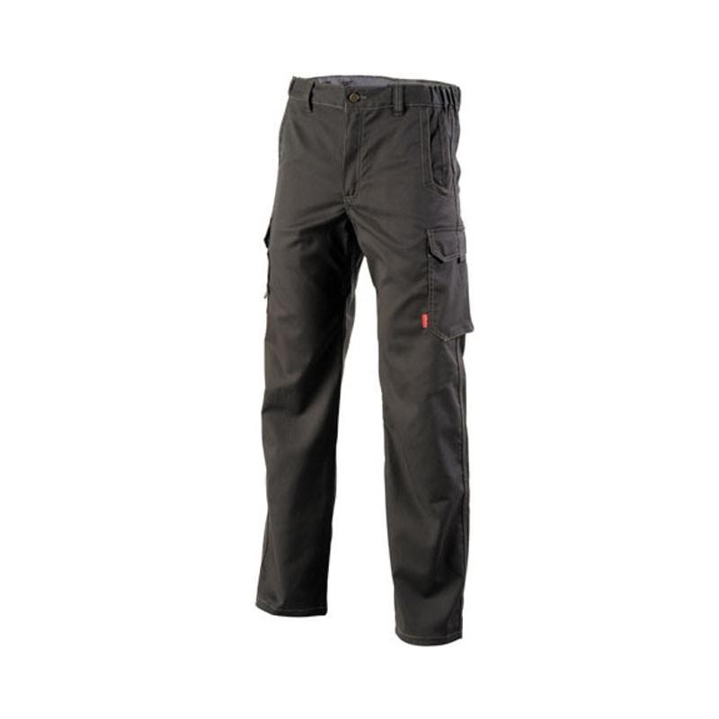 Pantalon de travail de travail Gris charbon mixte à bas prix