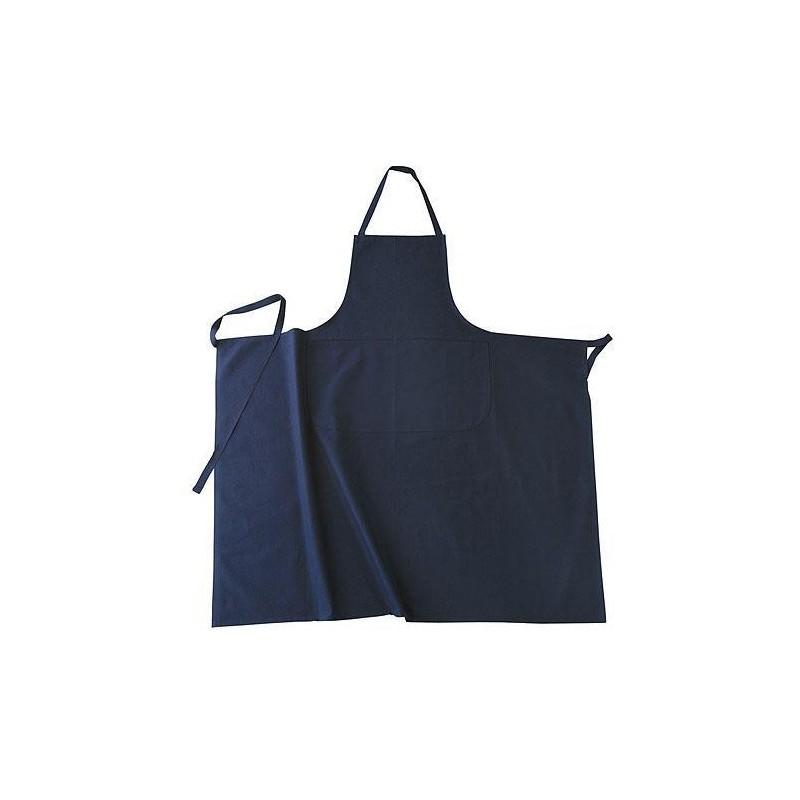 tablier bavette bleu marine pour la cuisine. Black Bedroom Furniture Sets. Home Design Ideas