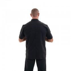 veste pour ecole de cuisine noir