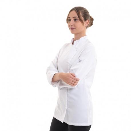 veste de cuisine coupe droite manille