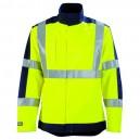 Veste de travail haute visibilité protection contre le feu et la chaleur JAUNE HIVI/MARIN pour homme ou femme très confortable