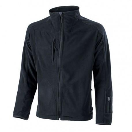 Veste de travail polaire noir très confortable pour homme ou femme