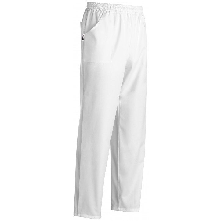 Pantaloni da medico bianchi Manelli (regolabili)