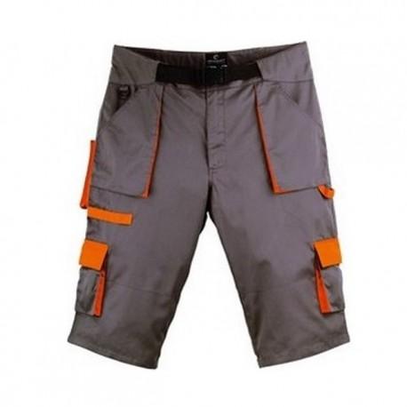 Short de travail gris & orange 8PADSL