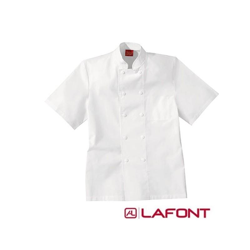 Veste de Cuisine Coton 100% Toile, veste pour cuisinier Lafont en promotion