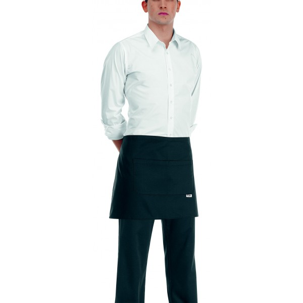 Tablier de Cuisine Court 40cm (42 couleurs)
