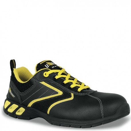 Calzature antinfortunistiche nero e giallo Royal S3 SRC