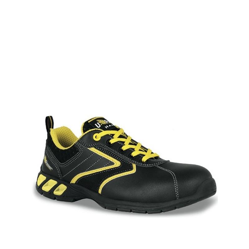 Calzature antinfortunistiche nero e giallo Royal S3 SRC