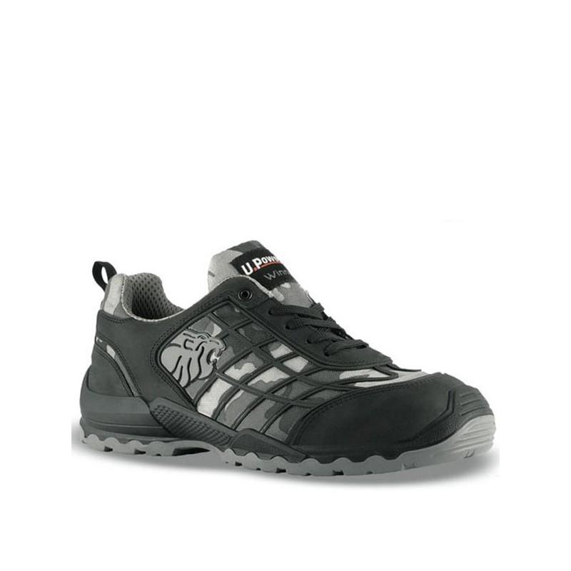 Chaussures de sécurité camouflage gris Penalty S3 SRC solidité, sobriété et robustesse. Prix abordable