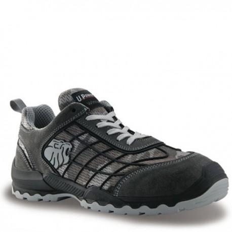 Chaussures de sécurité camouflage gris Mimetic S1P SRC, tendance, sobre