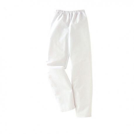 Pantalon médical blanc Lafont homme femme infirmier hopital aide soignant