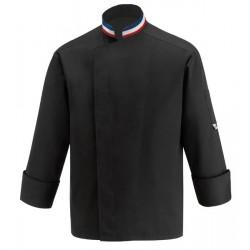 Veste de cuisine noire MOF
