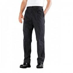 Pantalon de cuisine à plis Bragard