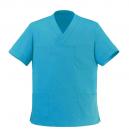Tunique médicale turquoise col V manelli