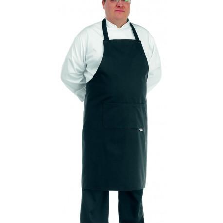 Grembiule da cucina nero per taglie forti