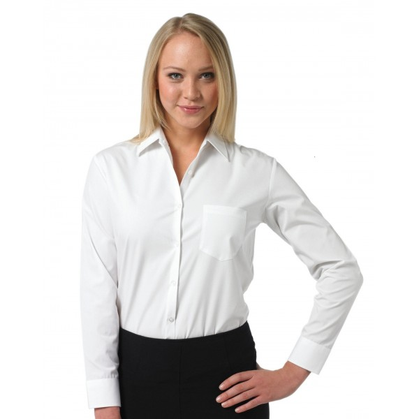 Chemisier Femme Blanc  - ML ou MC