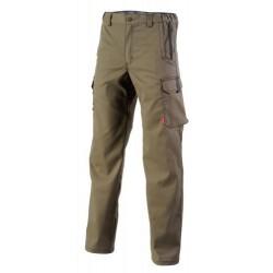 Pantalon de travail Chinnook marron