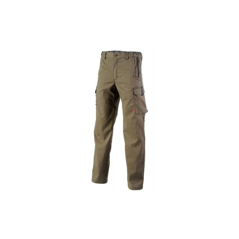 Pantalon de travail Chinnook marron