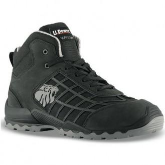 Chaussures de sécurité montantes Tango S3 SRC, noire, maintien cheville, performance impeccable