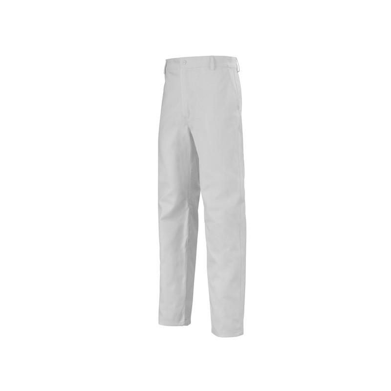 pantalon de travail pas cher blanc 100 coton adolphe lafont. Black Bedroom Furniture Sets. Home Design Ideas