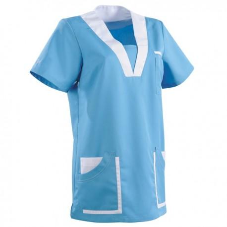 Tunique médicale 2MAR bleu ciel