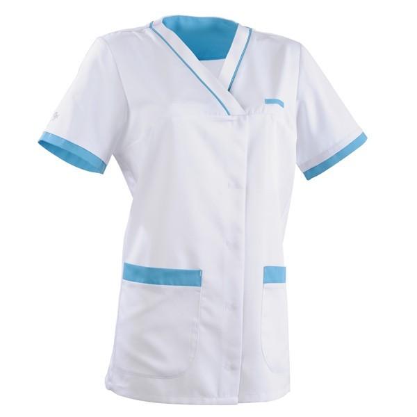 Tunica medica 2ALE bianca e azzurra
