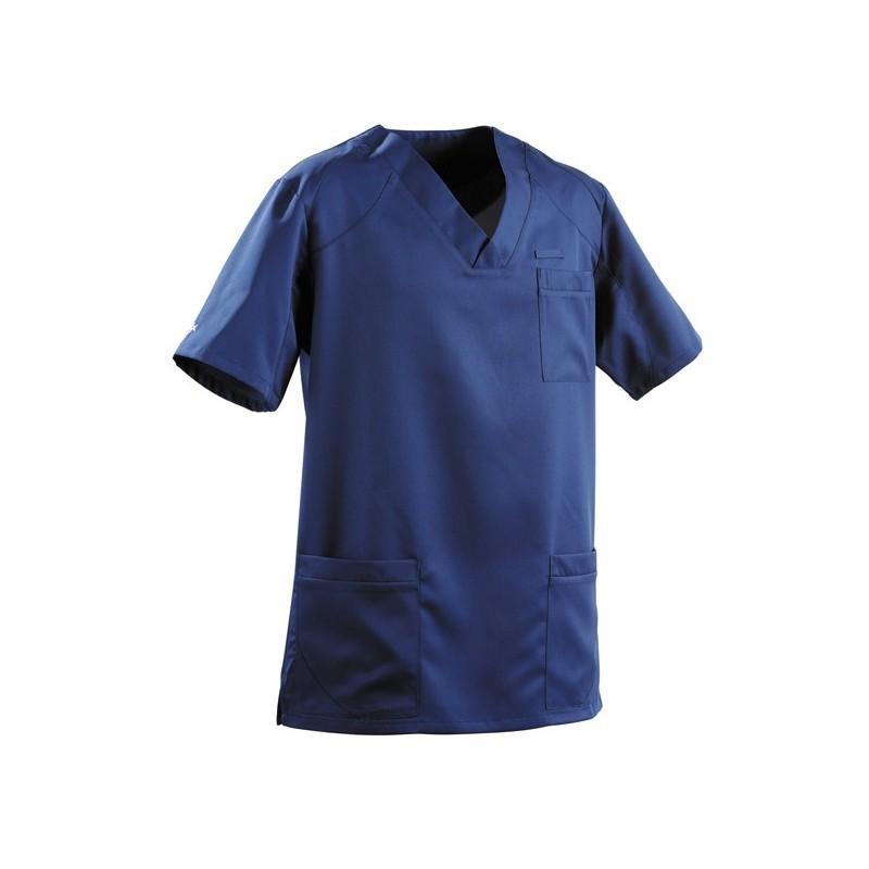 Tunique médicale homme 2SAH bleu marine