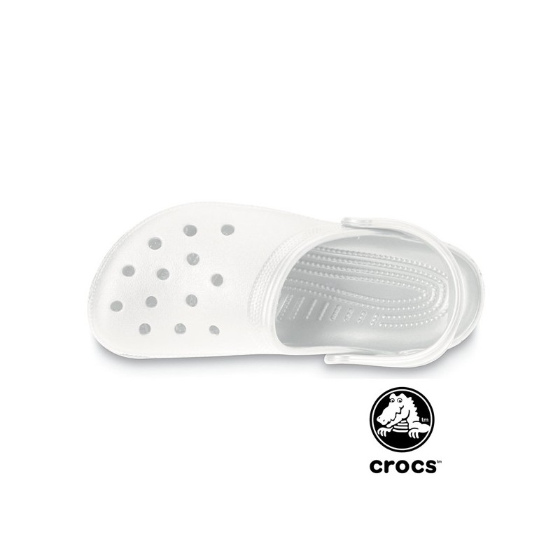 Sabot médical Crocs beach blanc