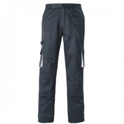 pantalon de travail marine et gris