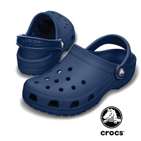Sabot sanitari Crocs Beach blu navy