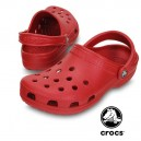 Sabot médical Crocs beach rouge