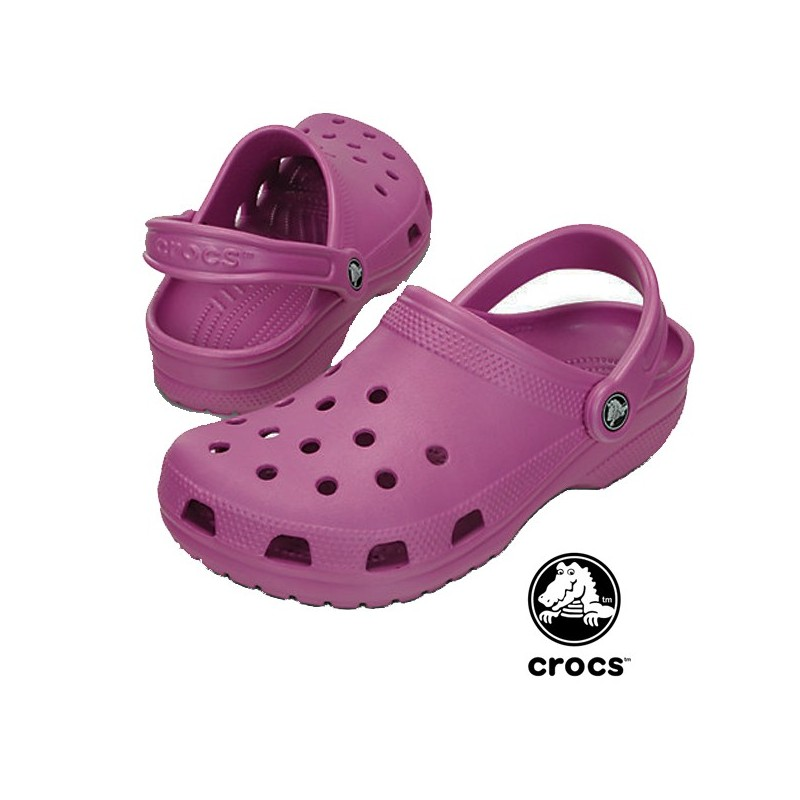 Sabot médical Crocs beach prune