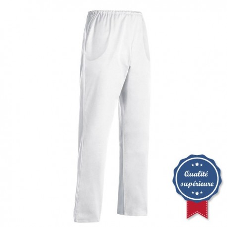 Pantalon esthtéticienne Blanc Manelli