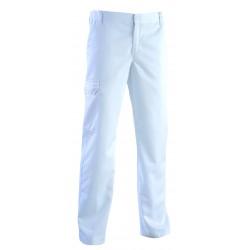 Pantalon Médical Homme Roméo Blanc