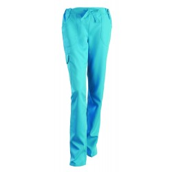Pantalon médical Juliette bleu ciel
