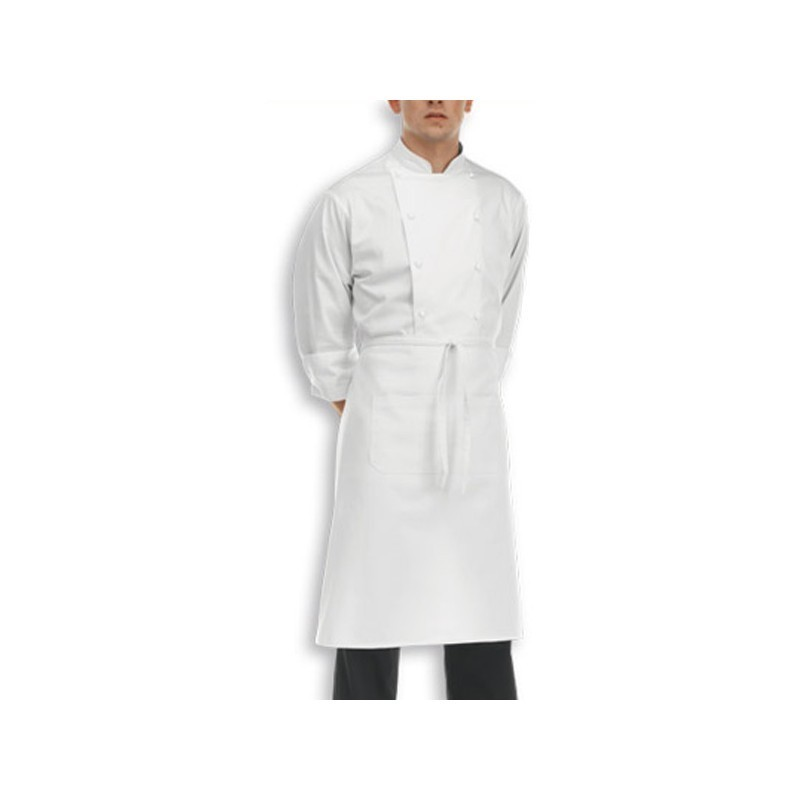Torchon de cuisine blanc essuie verre for Tablier de cuisine blanc pas cher