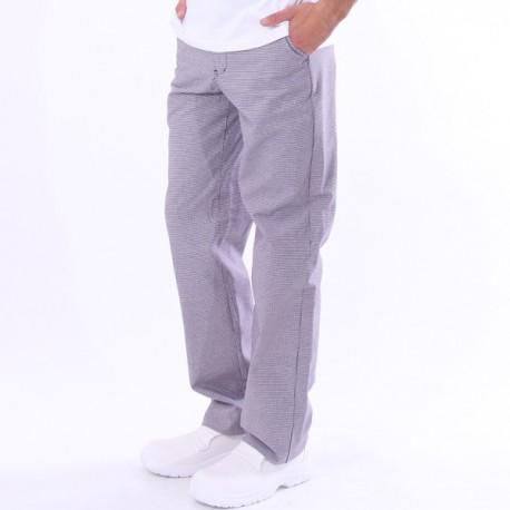 Pantalon de boulanger pied de poule