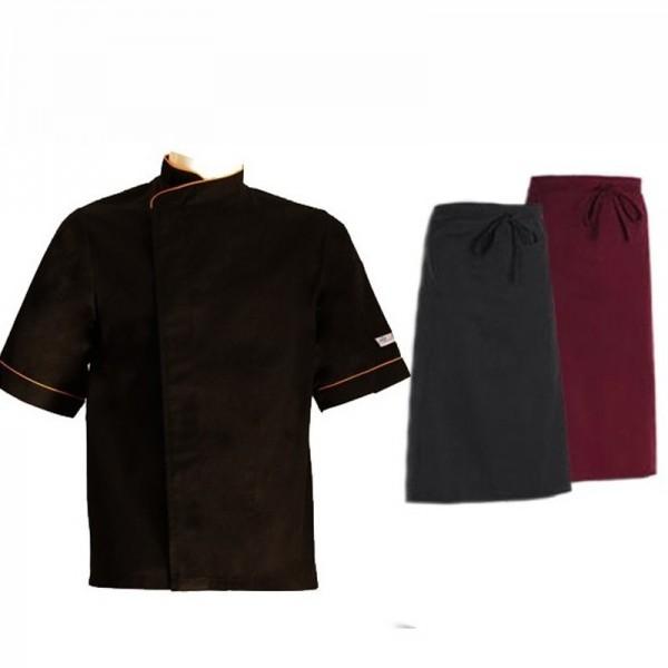 veste de cuisine 1 tablier chef
