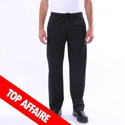 Pantalon de Cuisine Noir élastique