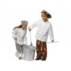 veste de cuisine toque broderie offerte
