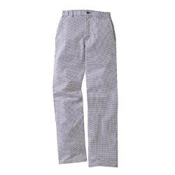 Pantalon de boucher pied de poule
