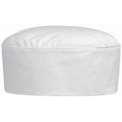 Calot de boulanger blanc