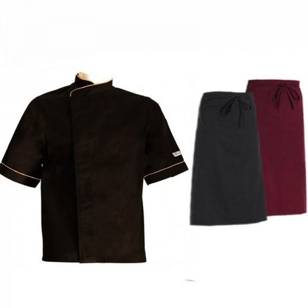 Pack v tements de cuisine et tenues compl tes apprentis for Cuisinier 71