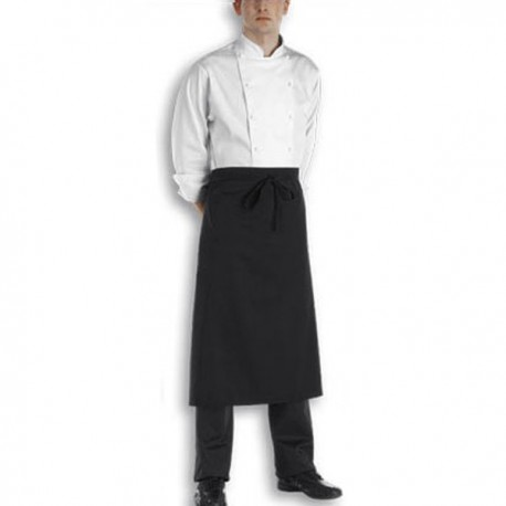 Tablier Long Chef 90cm bordeaux