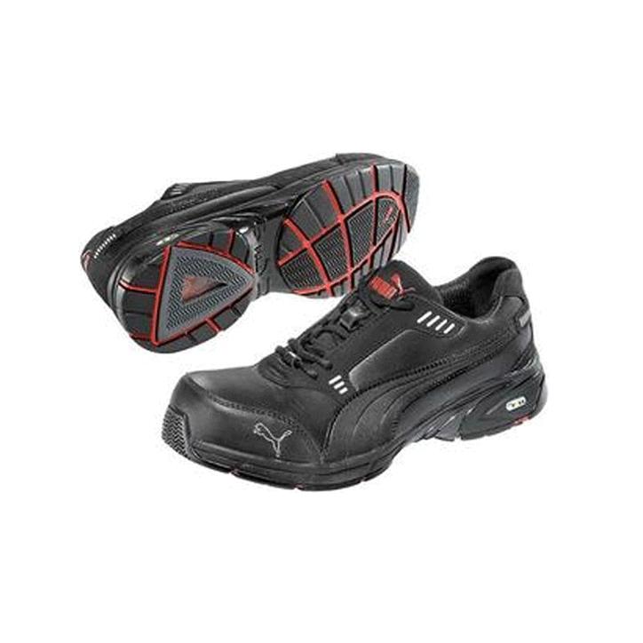 Chaussures de sécurité PUMA low. Classique avec coque de sécurité pour lutter contre les chocs.
